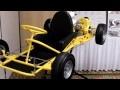 VIntage Fox Mak Kart with McCulloch - restored racing kart