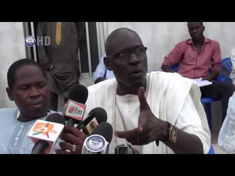 Conference de Presse des Transporteurs du Senegal