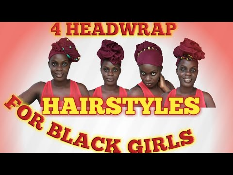 5 Headwrap Hairstyles For Black Women African Head Wrap
