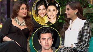 Karisma Wants Ranbir Kapoor To MARRY Sonam Kapoor? | Kareena Kapoor REACTION | Koffee With Karan 5