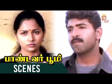 Arun Vijay and Shamitha sentiment Scene   Pandavar Bhoomi Movie Scenes   Rajkiran   Thamizh Padam