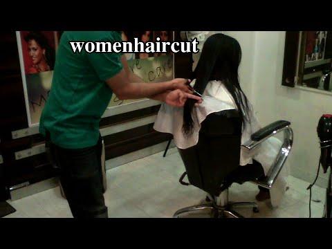 Beautiful Lady Long 2 Shoulder Length Haircut