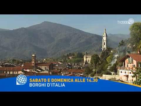 Borghi d'Italia a Sanremo e Caraglio - Il 25 e 26 febbraio alle 14.20 su Tv2000