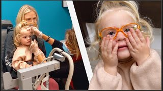 2 Year Old Posie Has To Get Glasses