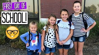FIRST DAY OF SCHOOL VLOG! BACK TO SCHOOL 2018