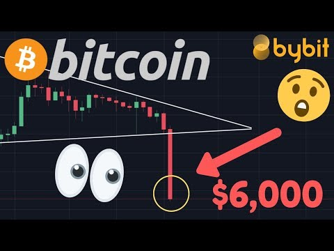 BITCOIN FALLING TO $6,000 NOW!!!!!! THE BIG DUMP IS HAPPENING!!! OUR TRADE IS ON FIRE!!!!!!!