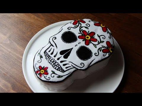 gâteau-d'halloween-:-dia-de-los-muertos