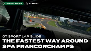GT Sport Lap Guide: Spa Francorchamps in a Gr.4 Car