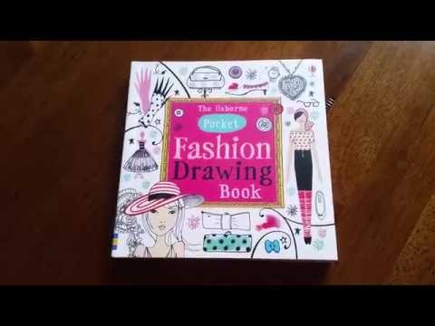 Pocket Fashion Drawing Book Usborne Books And More
