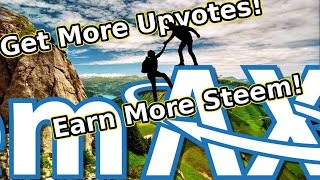 Earn more Steem cryptocurrency and get more followers creating automated exchanges using SteemAX