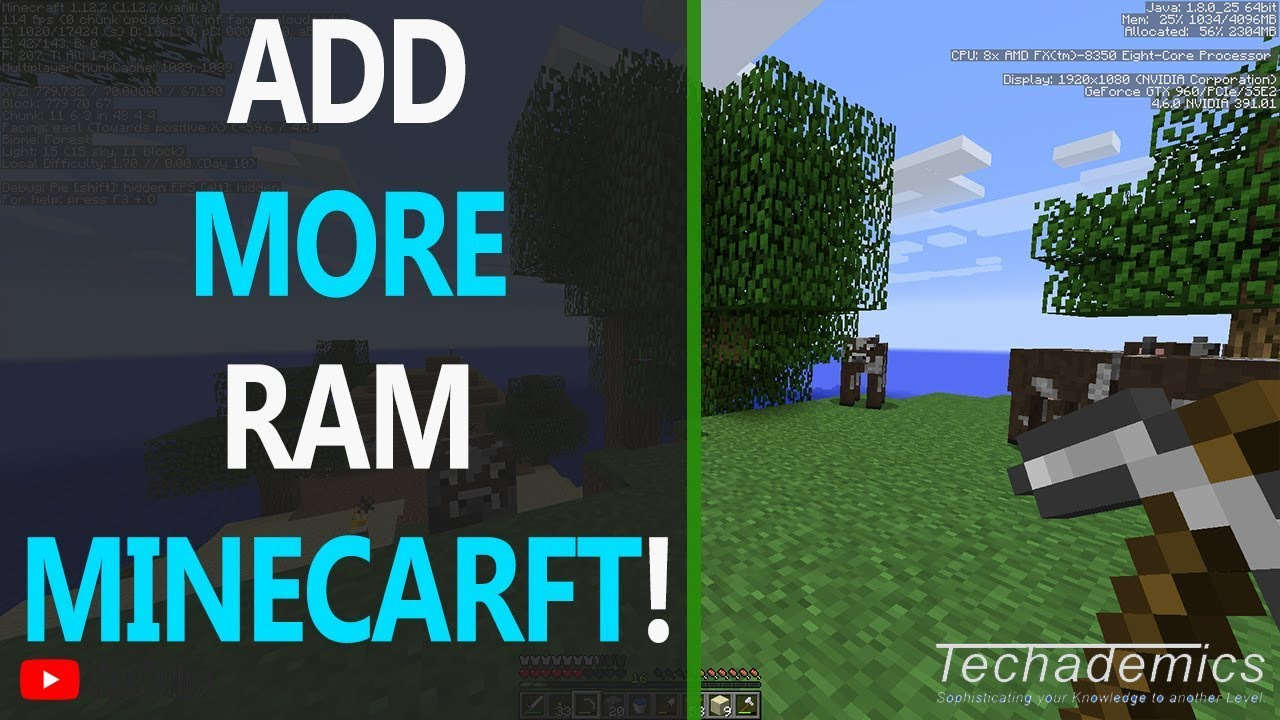 How To Allocate More RAM To Minecraft | Memory FIX Minecraft