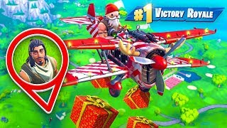 Delivering Presents as SANTA in Fortnite! thumbnail