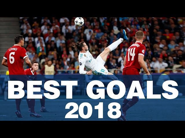 REAL MADRID: BEST GOALS 2018!