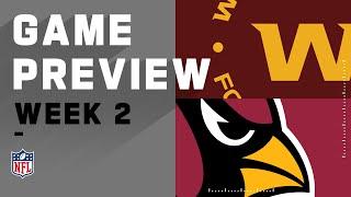 Washington Football Team vs. Arizona Cardinals Week 2 NFL Game Preview