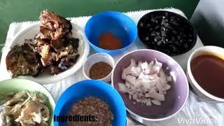 How to cook Ekpang Nkukwo