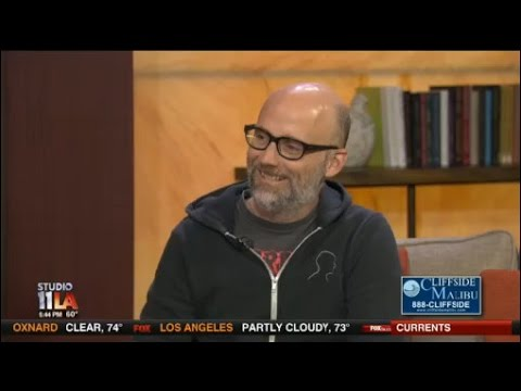 Moby talks about his new vegan restaurant, Little Pine