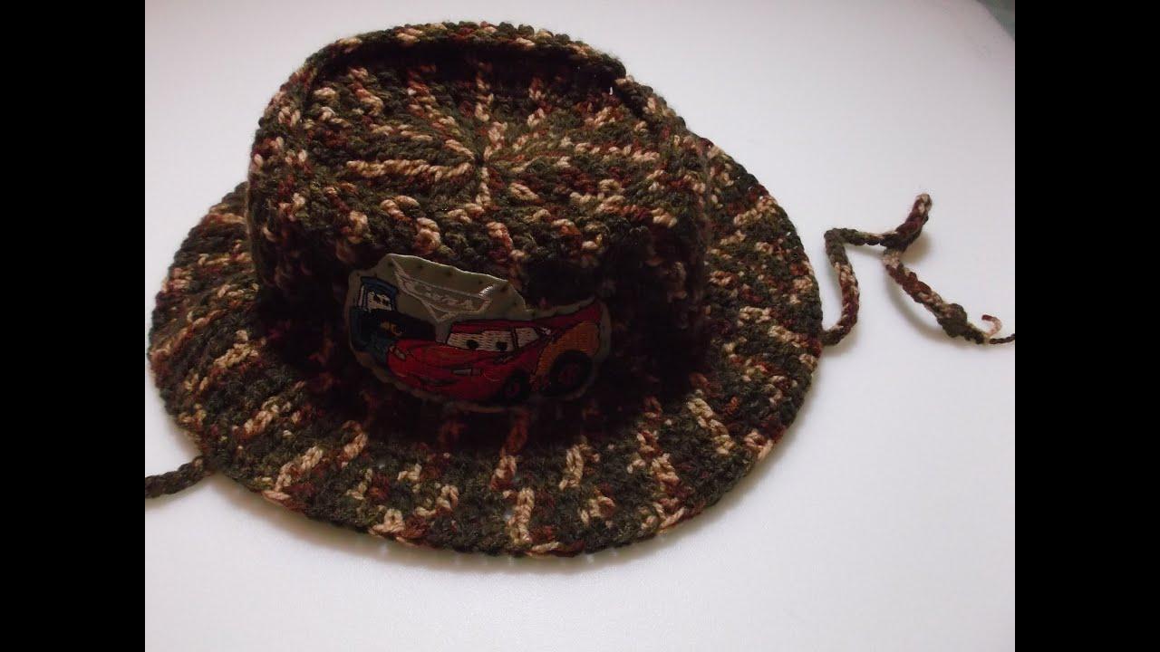 Sombrero, chapó, chapeau en crochet para niños DIY |Popirus Crafts ...