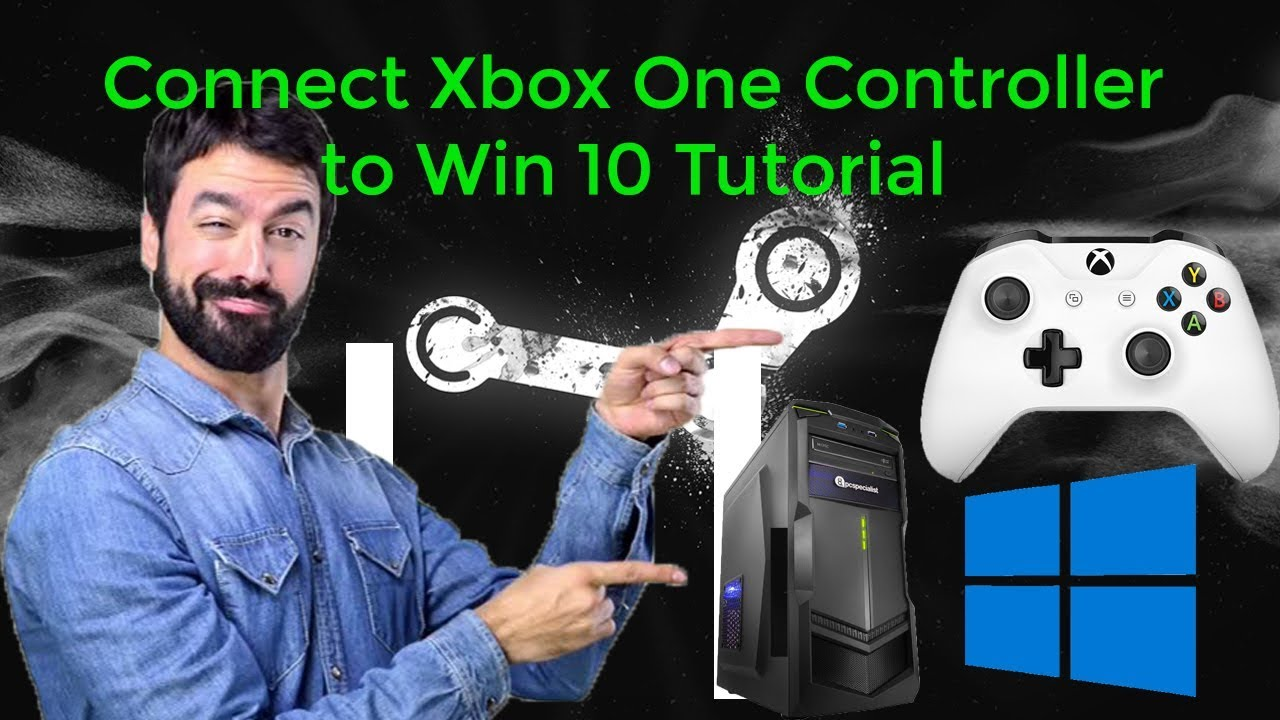 Connect Xbox One Controller to Win 10 - Bluetooth Tutorial