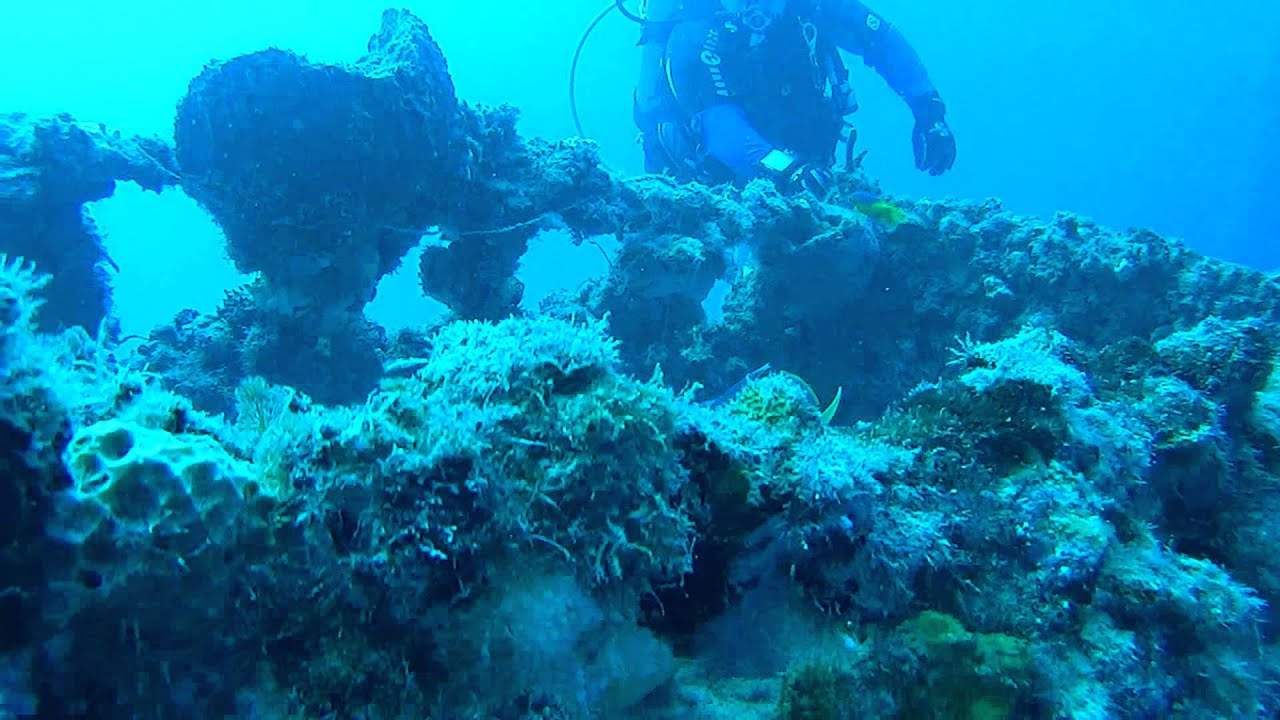 Diving The Eagle Wreck In The Florida Keys
