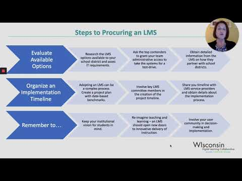 Procuring a Learning Management System (LMS)