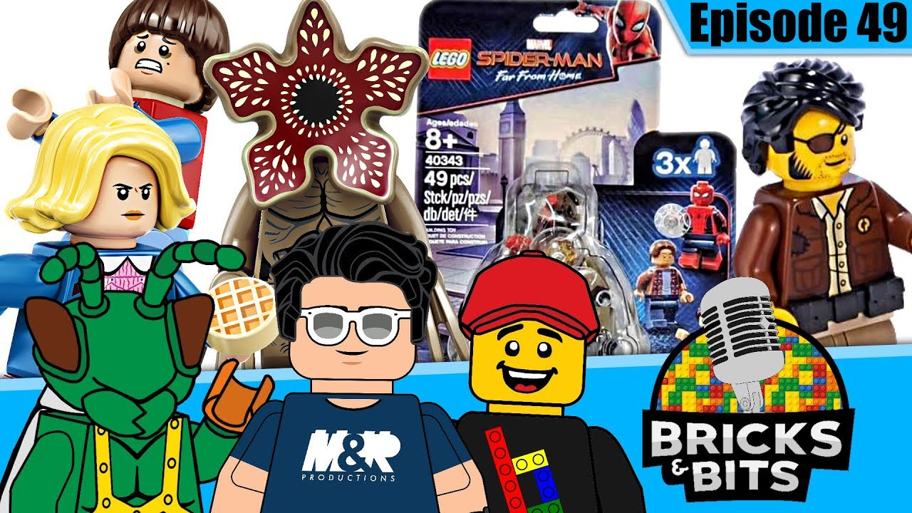 LEGO Stranger Things PROBLEM... Amazing new minifigure packs! - Bricks & Bits #49