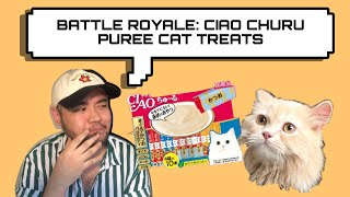 Vlog #03 | Battle Royale: Ciao Churu Puree Cat Treats reaction by a Persian Cat
