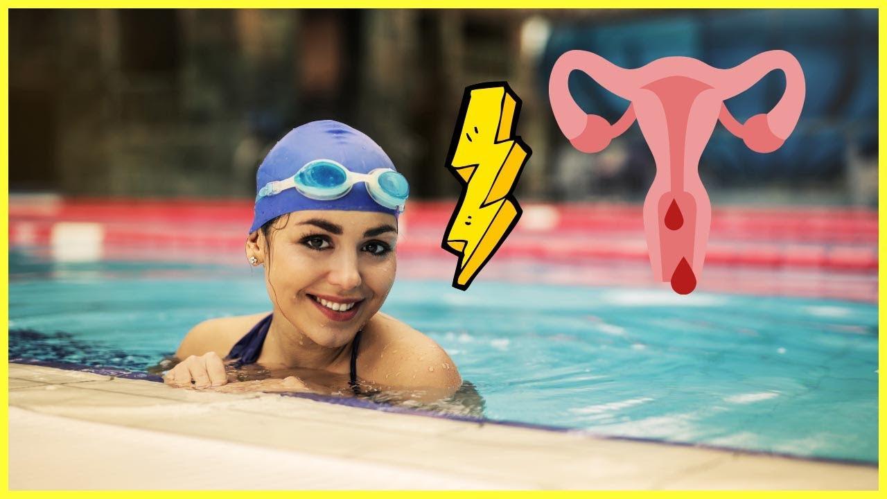 Schwimmen während der Periode - Tipps & Tricks - YouTube