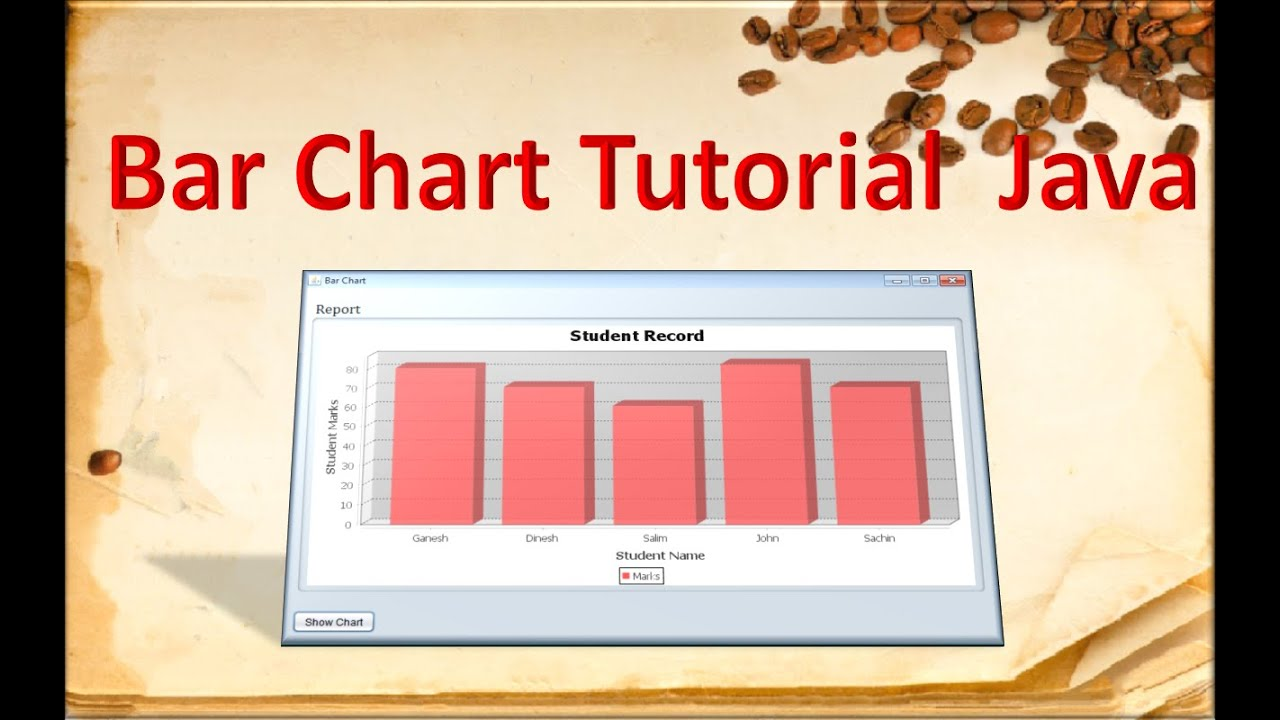How to make bar chart in java using jfreechart youtube how to make bar chart in java using jfreechart ccuart Choice Image