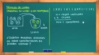 0625 Técnicas de conteo: muestras sin orden y con reemplazo