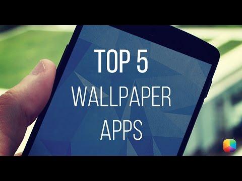 top 5 wallpaper apps youtube