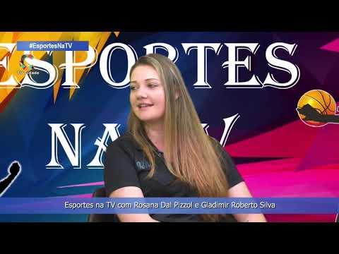 Esportes na TV com Rosana Dal Pizzol e Gladimir Roberto Silva