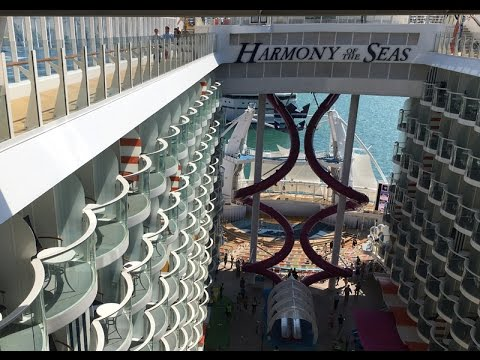 HARMONY OF THE SEAS - Aboard the biggest cruise ship of the world from Royal Caribbean International