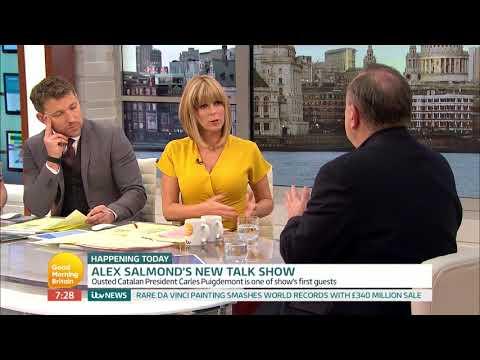 Alex Salmond's New Talk Show | Good Morning Britain
