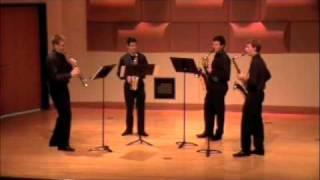 Lacour - Quatour - Mvt. 1 - Frost Saxophone Quartet