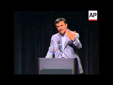 Ahmadinejad: No homosexuals in Iran