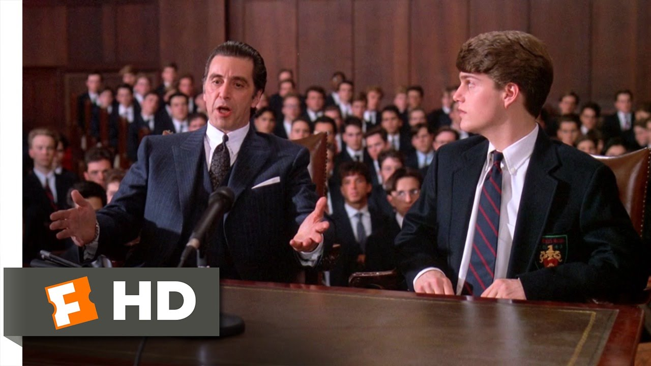 Frank Defends Charlie In Court Scent Of A Woman 88 Movie Clip