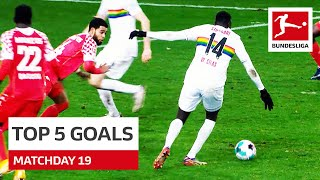 Top 5 Goals Wamangituka Sancho More Matchday 19 2020 21