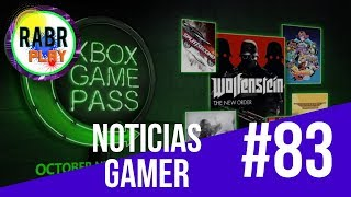 Noticias Gaming #83 GAME PASS - XBOX ONE - TOMB RAIDER - SUPER SMASH BROS