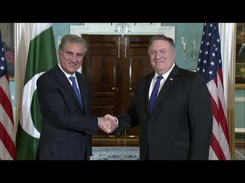 Secretary Pompeo Meets with Pakistani Foreign Minister Qureshi
