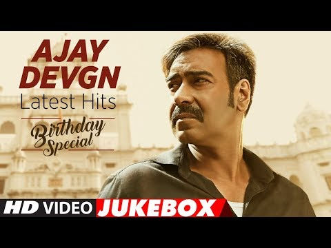 Latest Songs Of Ajay Devgn || Video Jukebox || Bollywood Hindi Songs || Birthday Special ||T-Series