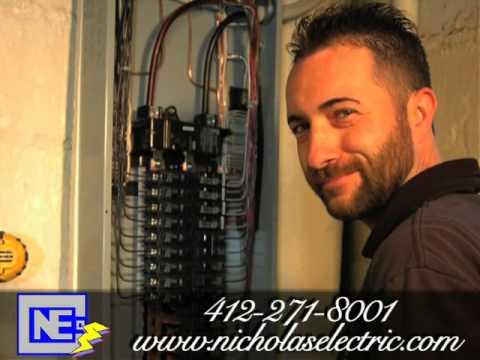 Nicholas Electric, electric, contractor, Braddock, PA