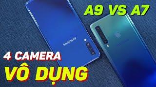 Đọ camera Galaxy A9 2018 vs A7 2018 : Nhiều tiền - nhiều cam - chụp tệ