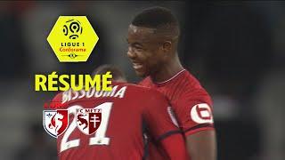 LOSC - FC Metz ( 3-1 ) - Résumé - (LOSC - FCM) / 2017-18