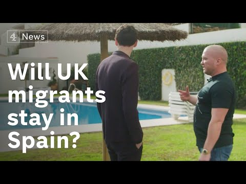 Will Brits who migrated to Spain stay post-Brexit?