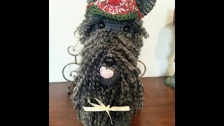 Crochet Amigurumi Scottish Terrier Dog Diy Tutorial Part 2 Of 2.