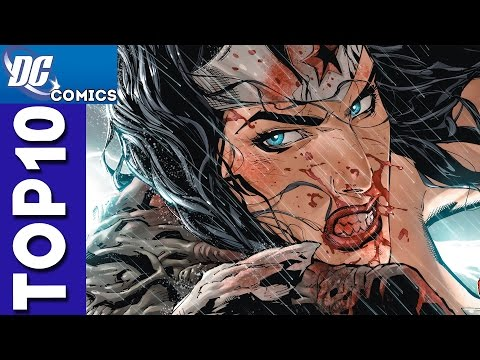 Top 10 Wonder Woman Fights From Justice League