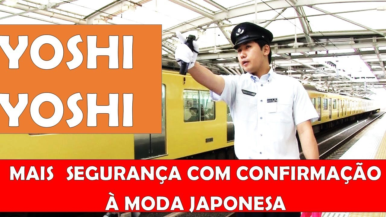 Yoshi Yoshi Segurança Com Método Japonês Youtube