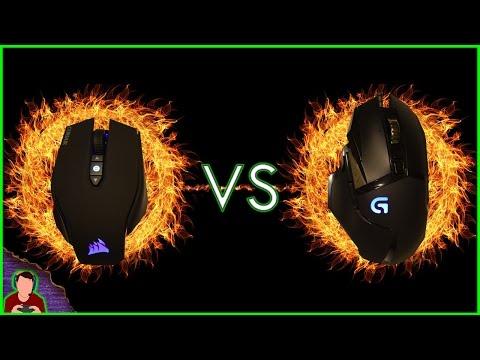 Review | Corsair M65 Pro RGB VS Logitech G502 Proteus Spectrum