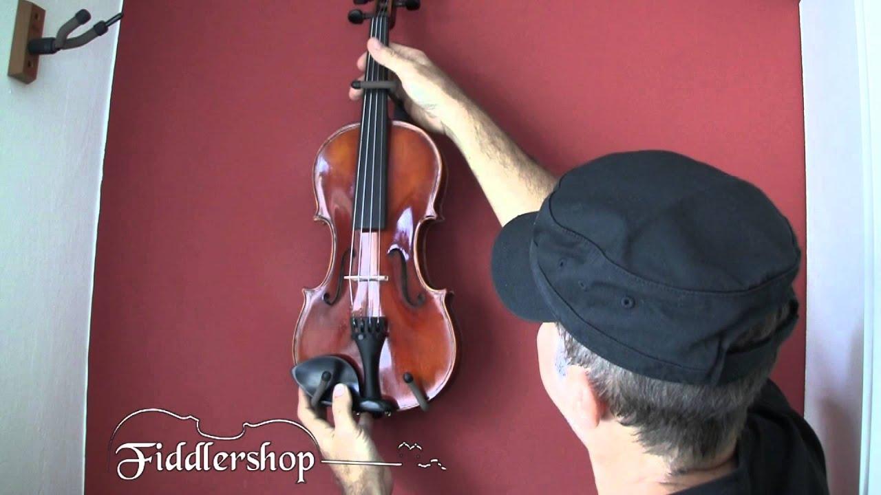 Horizontal Violin Or Mandoline Holder Fiddlers
