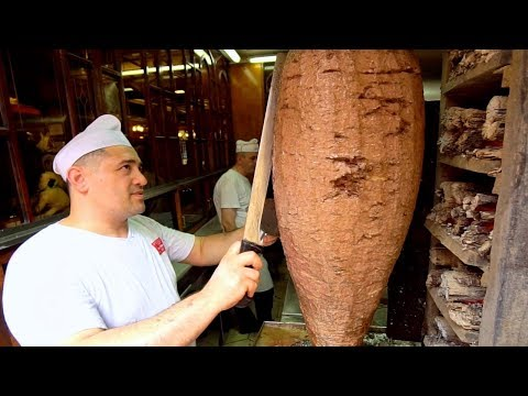 KING of İSKENDER KEBAB - 150 Year Old TURKISH Street Food in Bursa!! BEST Street Food in Turkey 2019